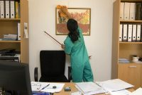 house and office cleaning job description